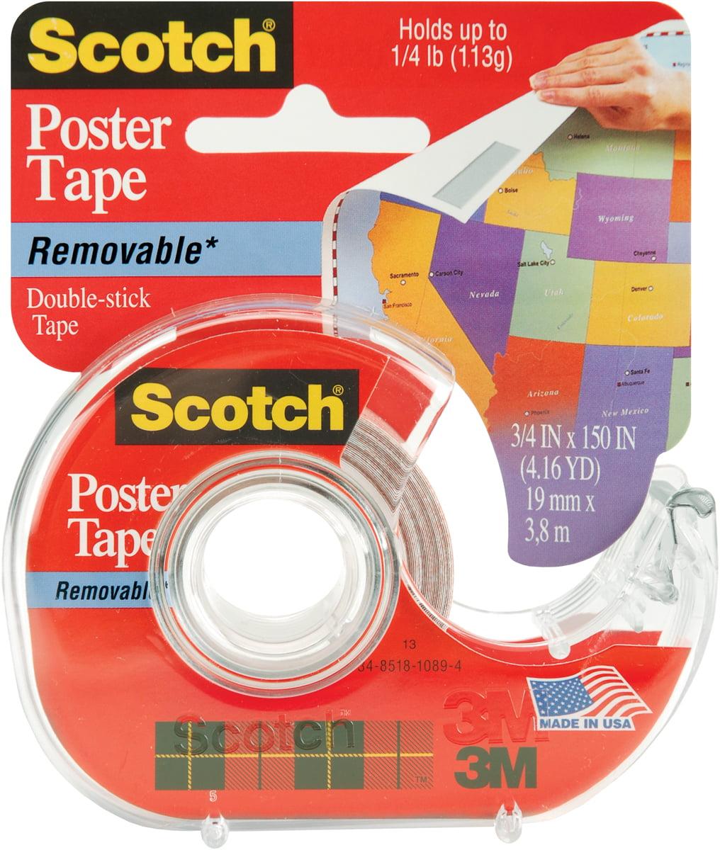 Scotch Poster Tape Removable 75 Quot X150 Quot 109