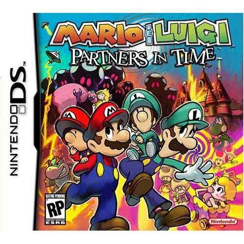 Mario & Luigi: Partners In Time Ds