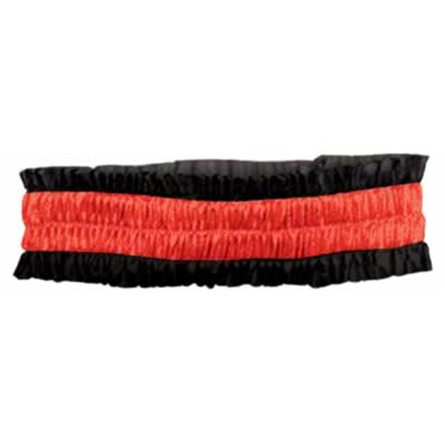 Beistle 60143-BKR - Dealers Arm Bands - Black And Red- Pack of 12