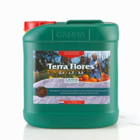 5 Liter - Terra Flores - Soil Bloom Nutrient - CANNA