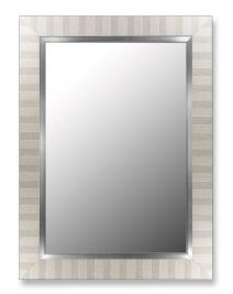 "Parma Silver Mirror with Stainless Liner-Size:44"" x 56"" by Hitchcock Butterfield"