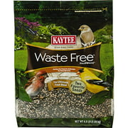 Kaytee Waste Free Finch Blend Stand Up Bag, 4.5-Pound Multi-Colored