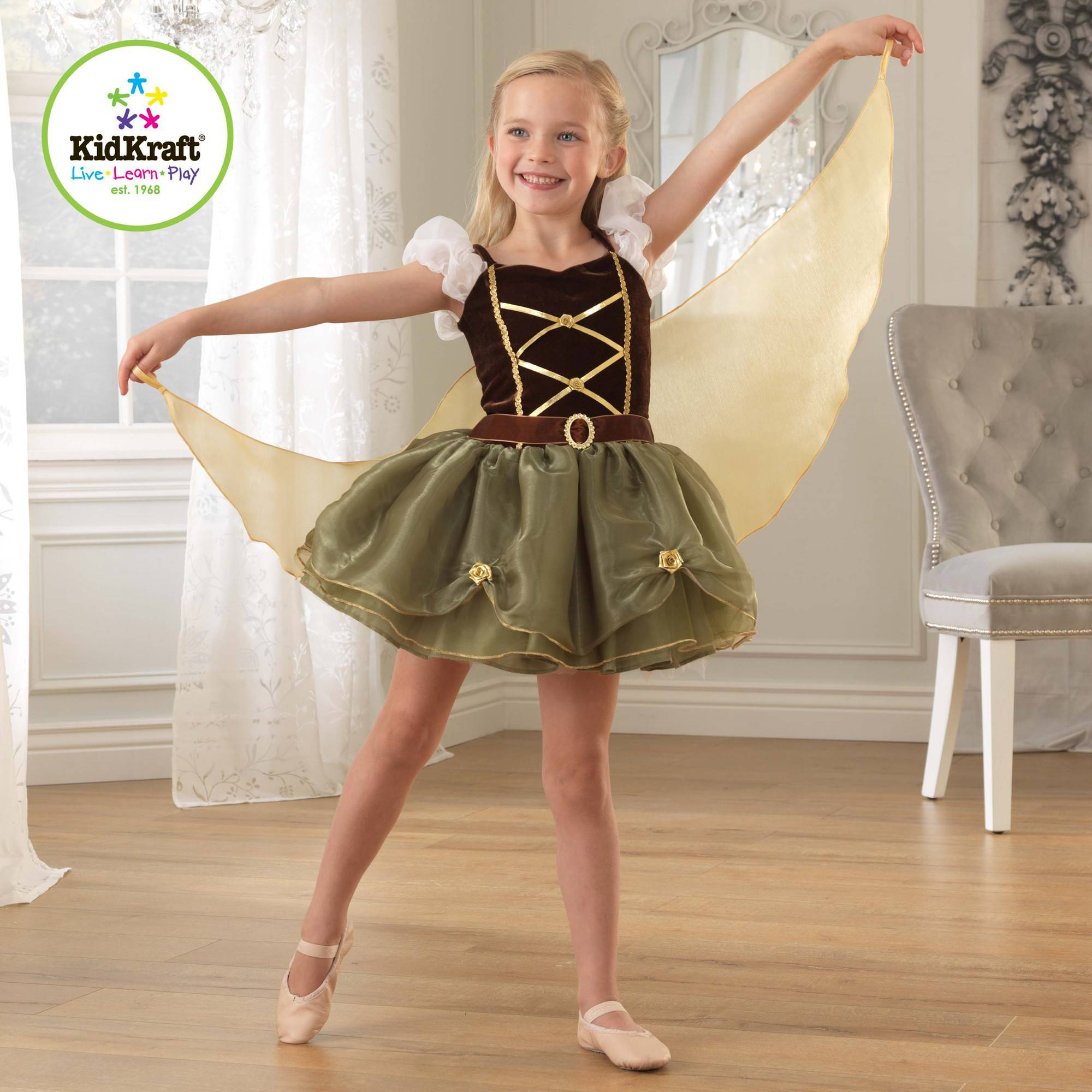 KidKraft Pirate Winged Fairy Dress Up Costume