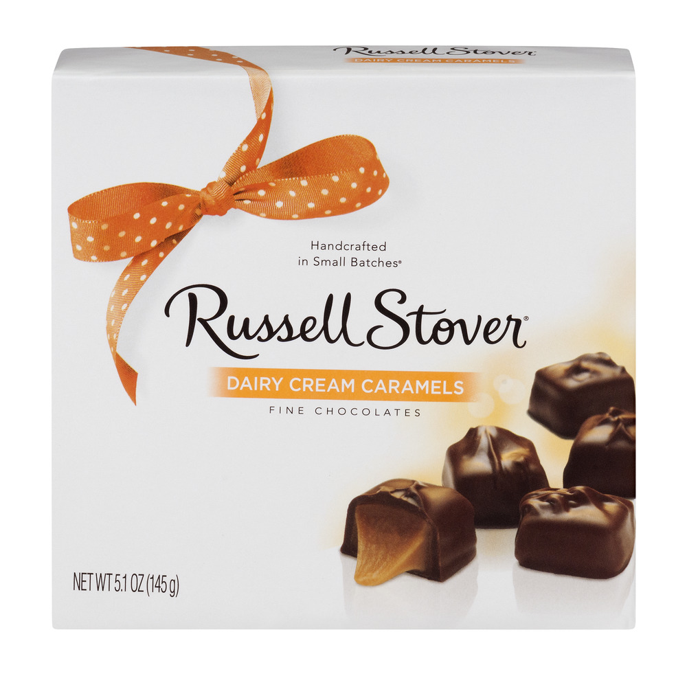 Russell Stover: Dairy Cream Caramels Fine Chocolates, 5.5 Oz