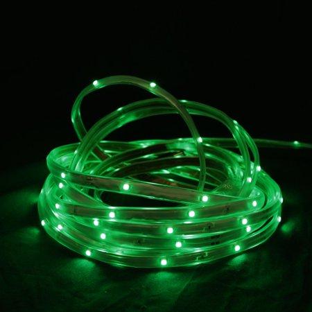 18 39 green led indoor outdoor christmas linear tape lighting white finis. Black Bedroom Furniture Sets. Home Design Ideas