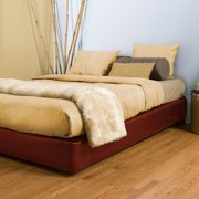 Allan Andrews Queen-size Red Platform Box Spring Cover and Leg Kit