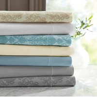 Hotel Style 600 Thread Count Solid Color Bedding Sheet Collection, Choose Your Color and Size