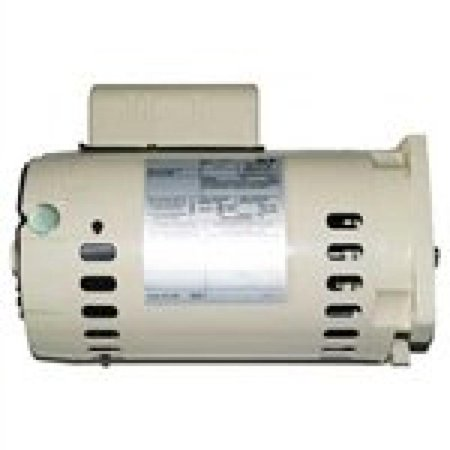 Pentair 071320S Almond Dual Speed Single Phase 1-1/2 HP Square Flange Motor with Switch Replacement Inground Pump
