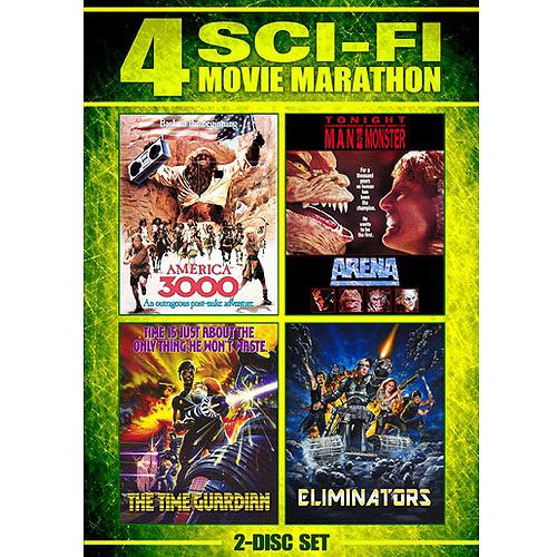 Sci-Fi Movie Marathon: America 3000 / Arena / Eliminators / The Time Guardian
