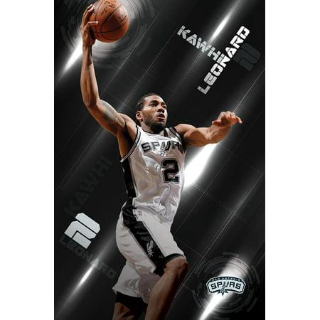 c232c6a56b95 Trends International San Antonio Spurs Kawhi Leonard Wall Poster 22.375