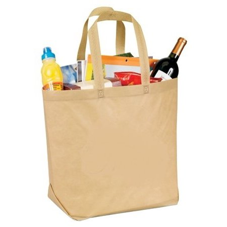 Fantasybag Eco Green Varied Tote-Khaki, TB-9177, Environmental Friendly Tote bag By Yens