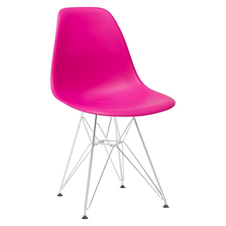 - Poly and Bark Padget Side Chair in Fuchsia