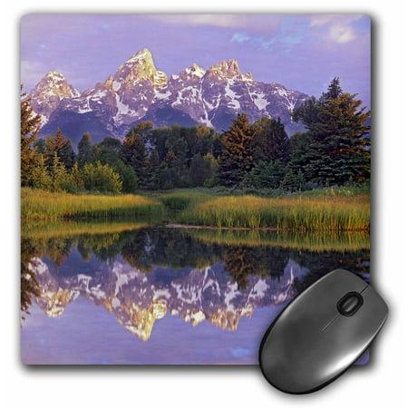 3dRose Tetons, Schwacher Landing, Grand Teton NP, Wyoming - US51 TFI0079 - Tim Fitzharris, Mouse Pad, 8 by 8 inches