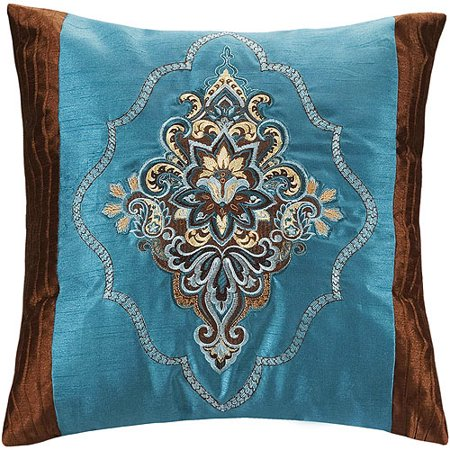 Better homes and gardens paisley collection square - Better homes and gardens pillows ...