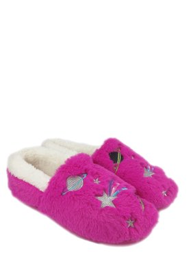 Wonder Nation Missy Girl Space Slippers