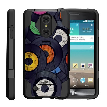 TurtleArmor ® | For LG LV3 | Aristo | K8 | Phoenix 3 M150 | Fortune M153 |  Risio 2 | K4 | Rebel 2 [Dynamic Shell] Dual Layer Hybrid Silicone Hard