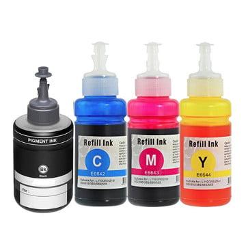 Compatible bottles Multipack for Epson 774 / 664 - 4 pack