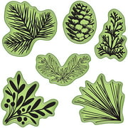 "Inkadinkado Stamping Gear 4""X4""-Pinecones Evergreen"