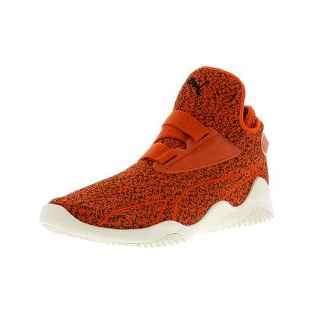 Puma Men's Mostro Sirsa Elemental Tomato / Pepper Black Whisper White Ankle-High Fashion Sneaker - 12M ()