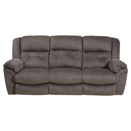 Catnapper joyner reclining sofa with drop down table for Sectional sofa with drop down table