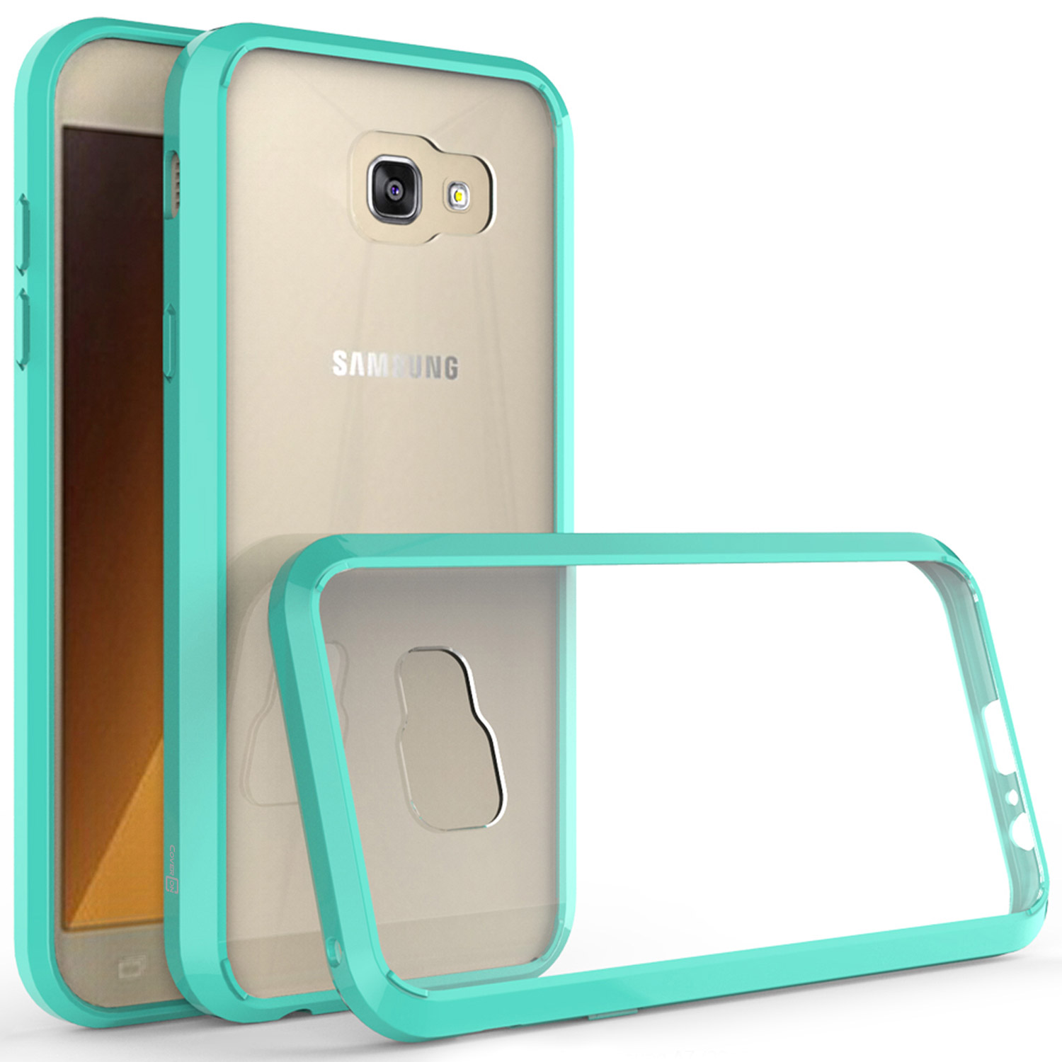 purchase cheap 0a439 9e03e CoverON Samsung Galaxy A7 (2017 Version) A720 Case, ClearGuard Series Clear  Hard Phone Cover