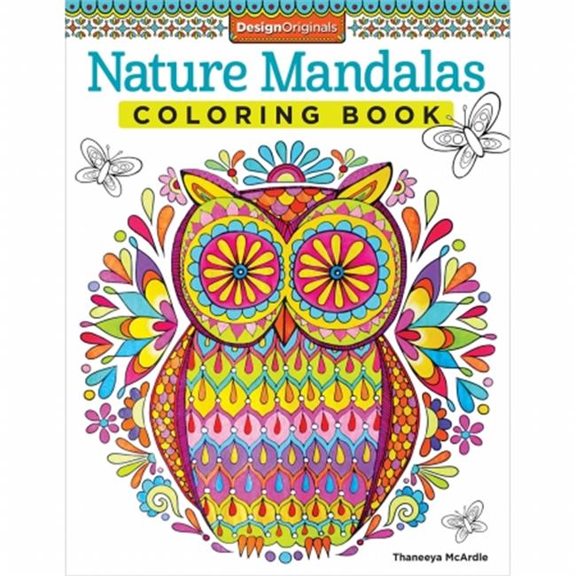 Design Originals-Nature Mandalas Coloring Book - image 1 of 1