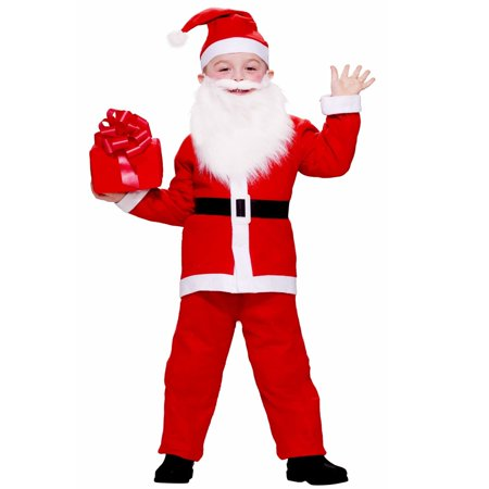 Santa Child Costume - Santa Costume For Rent