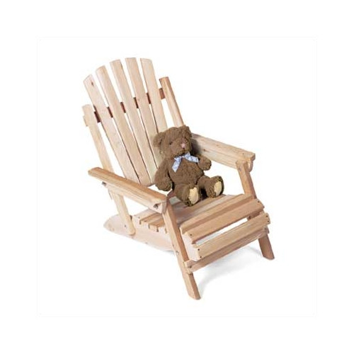 Rustic Natural Cedar Furniture Solid Wood Adirondack Chair