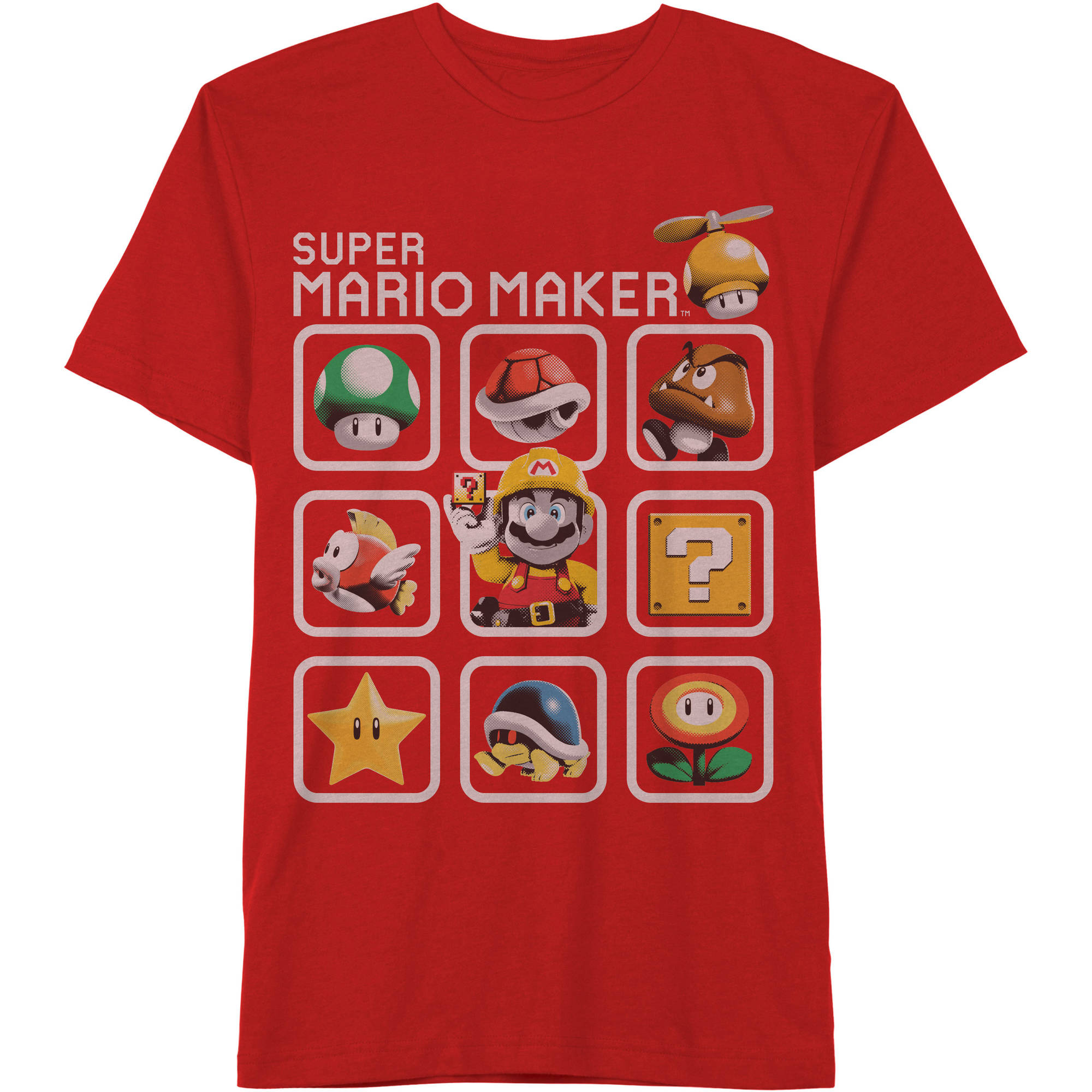 Nintendo Boy's Maker 3x3 Graphic Tee
