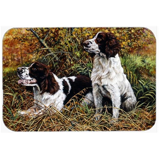 Two Springer Spaniels in the Grasses Mouse Pad, Hot Pad or Trivet