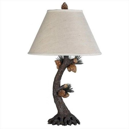 150 W 3 Way Pinecone Table Lamp Pinecone Mission Table Lamp