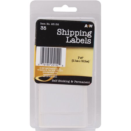 """Labels-Shipping 2""""X4"""" 35/Pkg - image 1 of 1"""