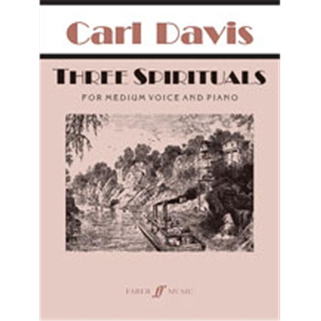Alfred 12-0571520758 Three Spirituals Music Book by Alfred