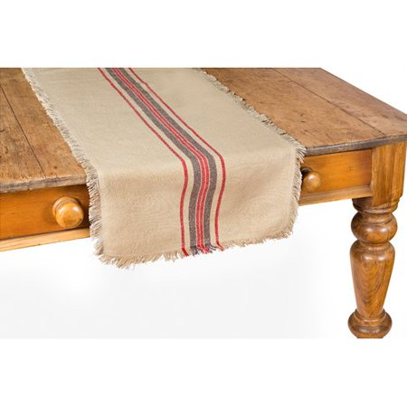 Xia Home Fashions Stripe Linen Table Runner