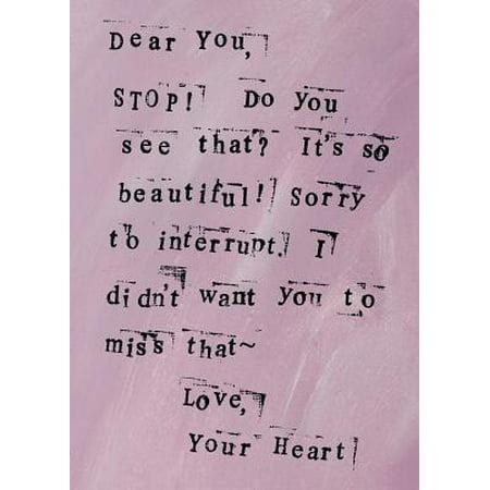 Beautiful : A Dear You Journal