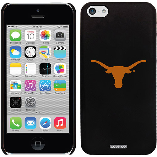 University of Texas Mascot Design on iPhone 5c Thinshield Snap-On Case by Coveroo