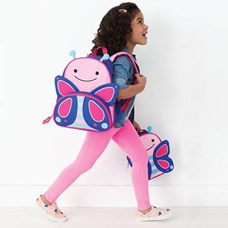 - Zoo Little Kid and Toddler Backpack, Blossom Butterfly
