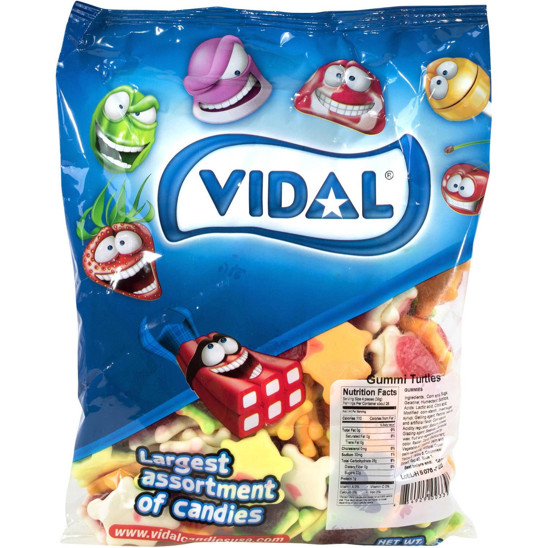 Vidal Gummi Turtles, 2.2 lbs