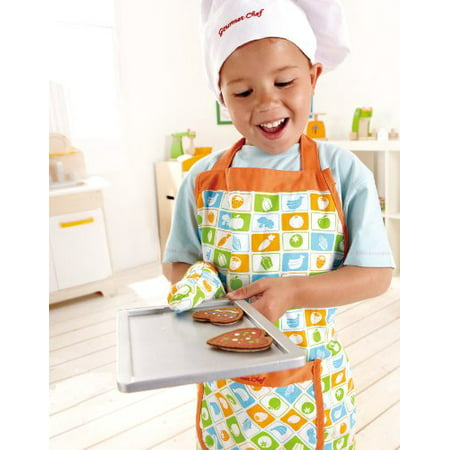Hape Kid's Chef Apron Set Pretend Play - E3119 - image 3 of 4