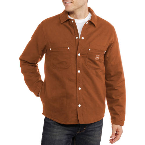Walls Men's Sherpa Lined Shirt Jacket