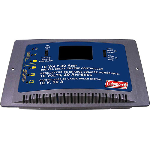 Coleman 30A Digital Solar Charge Controller