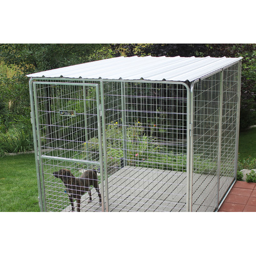 Kennel Pro Basic Corrugated Metal Top for Dog Kennel