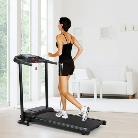 Jaxpety Folding Treadmill 700W Electric Motorized Power Home Machine Fitness Running Machine