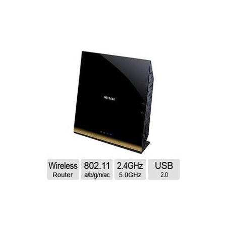 Refurbished NetGear AC1800 Smart Wireless Router - IEEE 802 11 a/b/g/n/ac,  2 4GHz - 5 0GHz, 1300Mbps - R6300