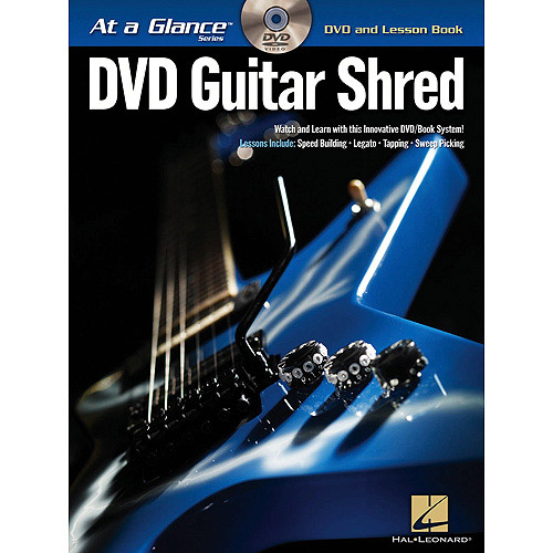 Hal Leonard Guitar Shred At a Glance Series (Book/DVD) [Sheet music]