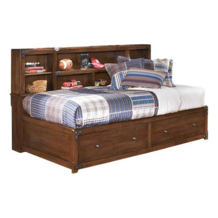 Ashley Delburne T F Storage Hdbd Ftbd Frame Medium Brown