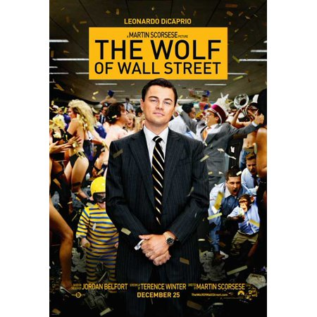 The Wolf of Wall Street (2013) 11x17 Movie Poster