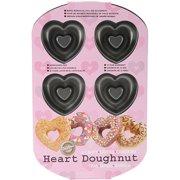 Wilton 6-Cavity Doughnut Pan, Heart 2105-0632