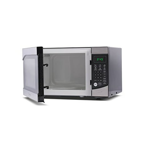 Westinghouse WM009 900 Watt Counter Top Microwave Oven, 0.9 Cubic Feet, Stainless Steel Front with Black