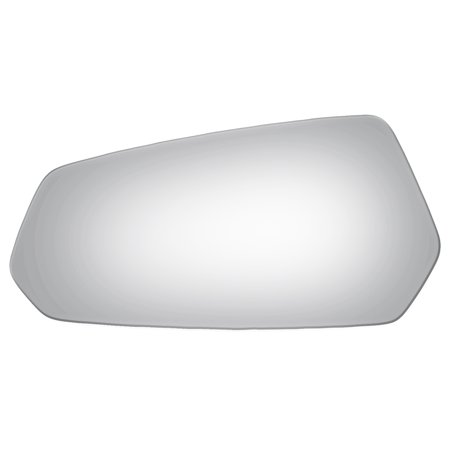 For 10-15 Chevrolet Camaro Driver Side Drop Fit Flat Power Door Mirror (Camaro Power Mirror)